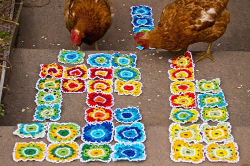 Tetris with chicks