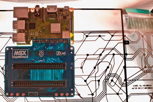 RetroPie Raspberry Pi cartridge board MSX