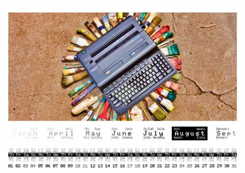 08 august 2019 calendar