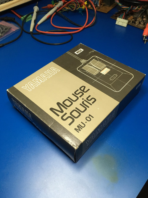 MU-01 MSX Yamaha mouse box