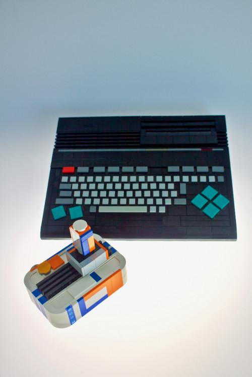 LEGO elements computer case MSX