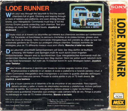 Lode Runner [back]