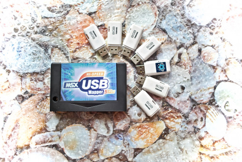 tecnobytes 512 Mapper USB MSX