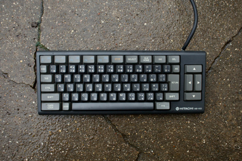 Hitachi H50 Keyboard MSX