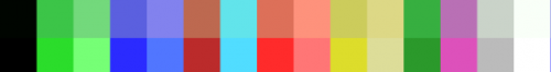 MSX palette