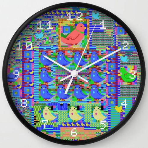 MSX Bird Clock