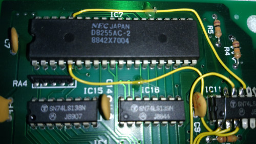 knit designer IC7 chip closeup 1