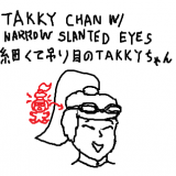 takky-chan-with-narrow-slanted-eyes_hair-clipped-by-band